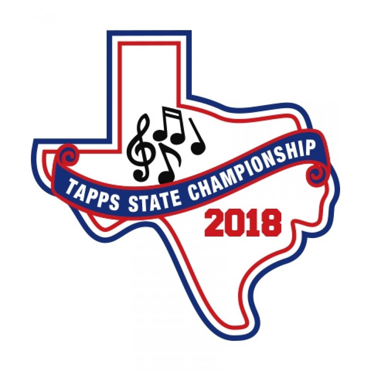 Chenille 2018 TAPPS Music State Patch