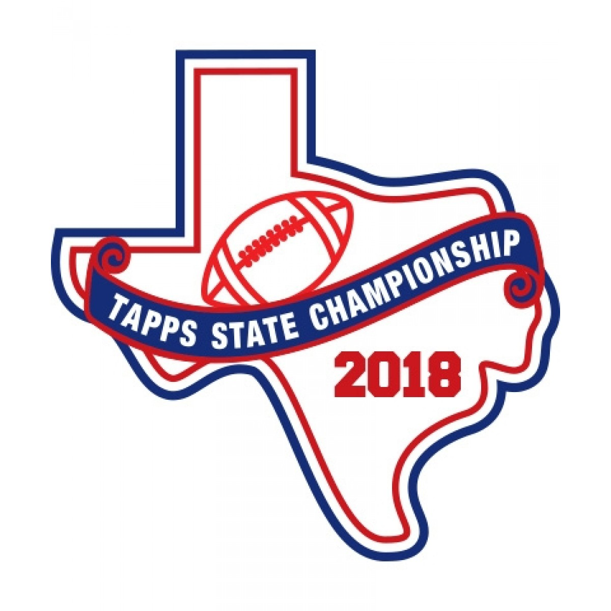 Chenille 2018 TAPPS Football State Patch