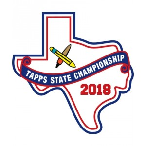 Felt 2018 TAPPS Academic State Patch