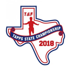 Chenille 2018 TAPPS T&F State Patch