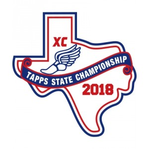Chenille 2018 TAPPS XC State Patch