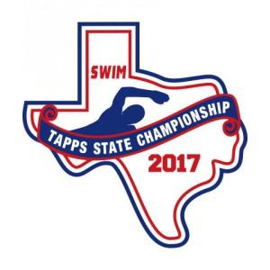 Felt 2017 TAPPS Swim State Patch