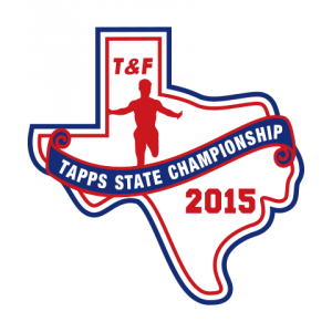Chenille TAPPS 2015 T&F State Patch