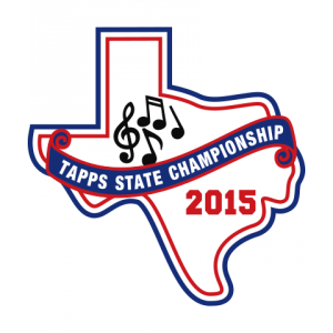 Chenille TAPPS 2015 Band State Patch