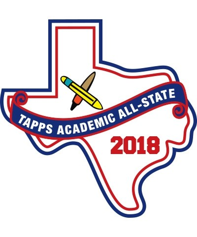 Chenille 2018 TAPPS Academic All State Patch