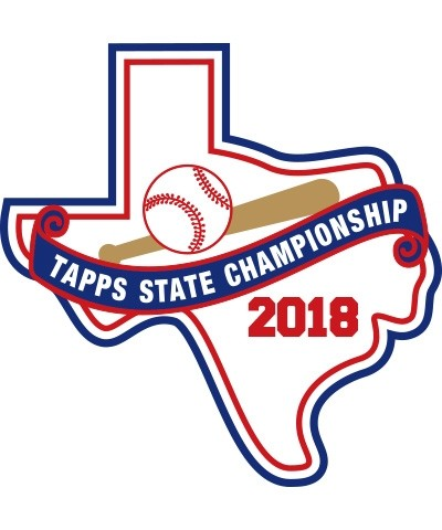 Felt 2018 TAPPS Baseball State Patch
