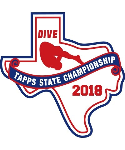 Chenille 2018 TAPPS Dive State Patch