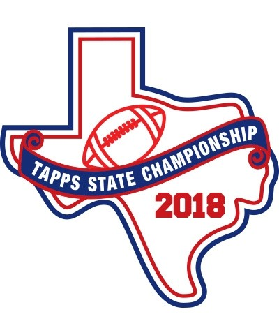 Felt 2018 TAPPS Football State Patch
