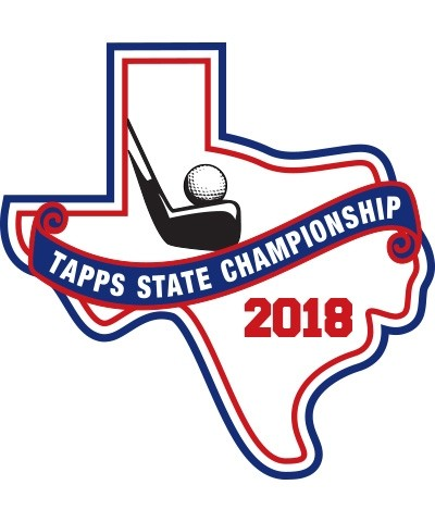 Chenille 2018 TAPPS Golf State Patch