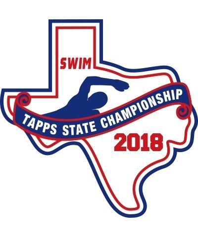 Felt 2018 TAPPS Swim State Patch