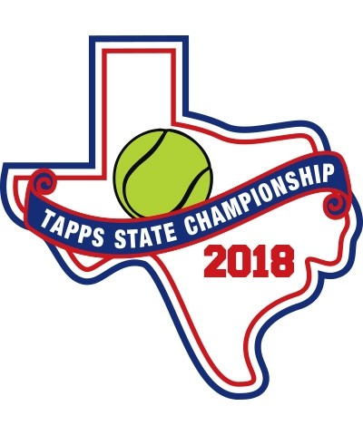 Felt 2018 TAPPS Tennis State Patch