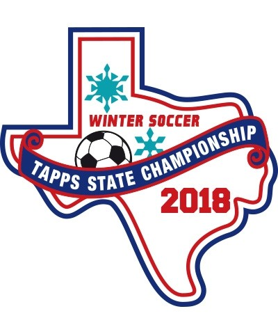 Chenille 2018 TAPPS Winter Soccer State Patch