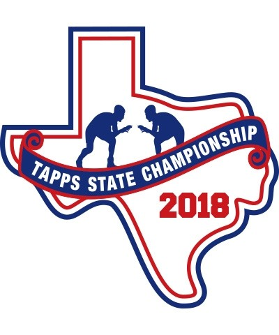Chenille 2018 TAPPS Wrestling State Patch