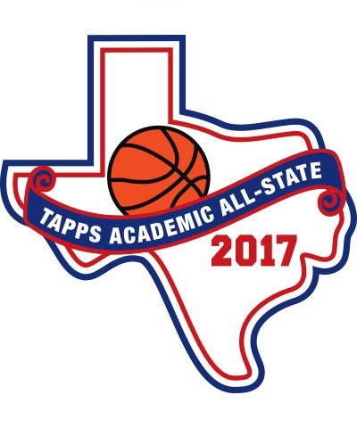 Felt 2017 TAPPS Academic All-State Basketball Patch