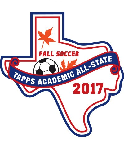 Felt 2017 TAPPS Academic All-State Fall Soccer Patch