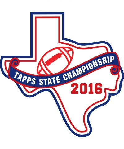 Felt 2016 TAPPS Football State Patch