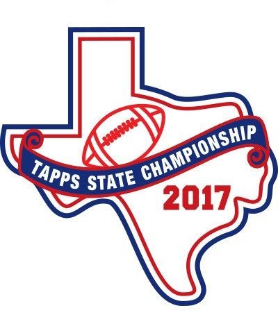 Felt 2017 TAPPS Football State Patch