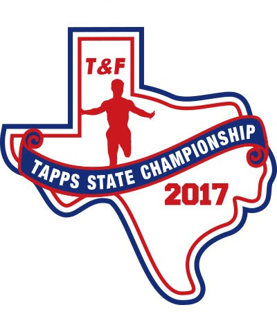 Felt 2017 TAPPS T&F State Patch