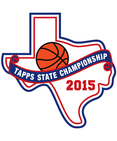 Felt TAPPS 2015 Basketball State Patch