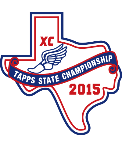 Chenille 2015 TAPPS XC Championships Patch