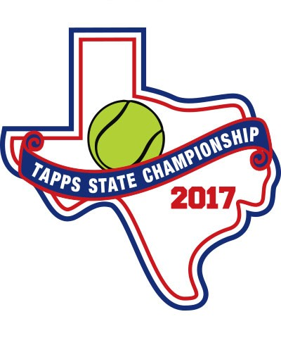 Felt 2017 TAPPS Tennis State Patch