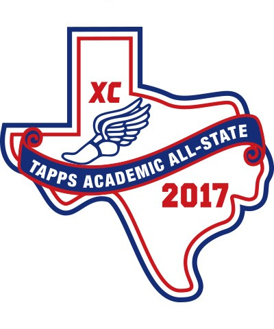 Felt 2017 TAPPS Academic All-State XC Patch